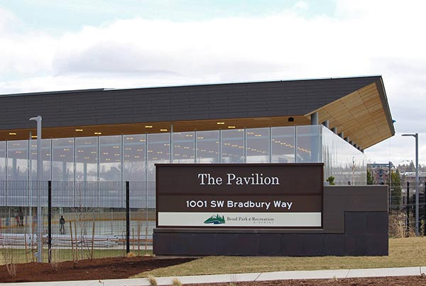 The Pavilion in Bend | ETFE Tensile Facade