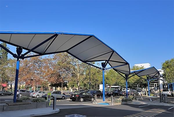 Western Digital Campus Walkway Canopy | Covered Walkway