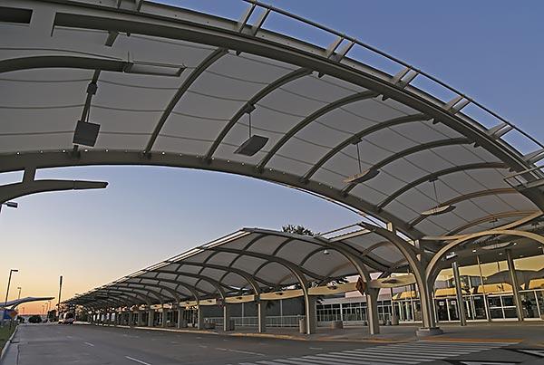Tulsa International Airport | Airport Canopies
