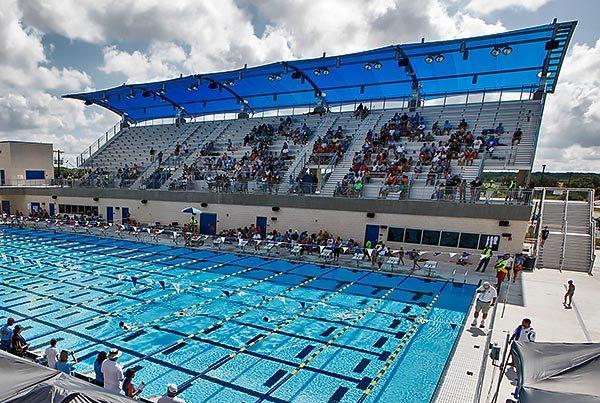 Northside Swim Center | Grandstand Canopy