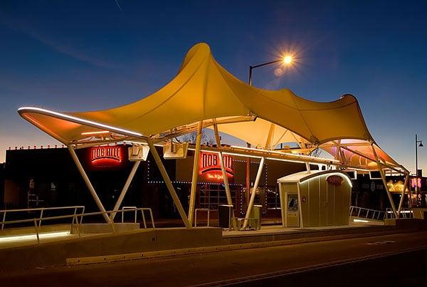 Albuquerque Rapid Transit Bus Stations | Bus Station Canopies