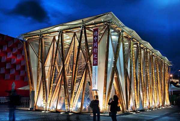 2010 Shanghai World Expo, Germany-Chinese House | Building Envelope