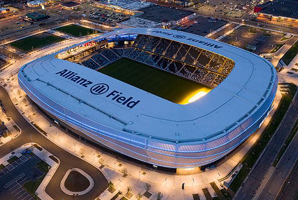 Allianz Field | Tensile Façade