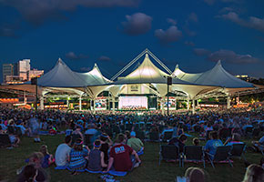 cynthia woods mitchell pavilion the woodlands texas