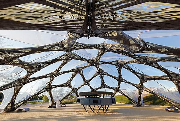 BUGA Fibre Pavilion | ETFE Pavilion