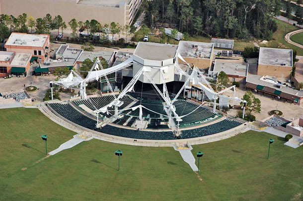 Cynthia Woods Mitchell Pavilion membrane structure repairs
