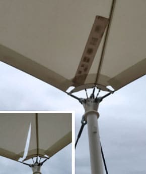 FabriTec Structures Sheppard Air Force Base repairs