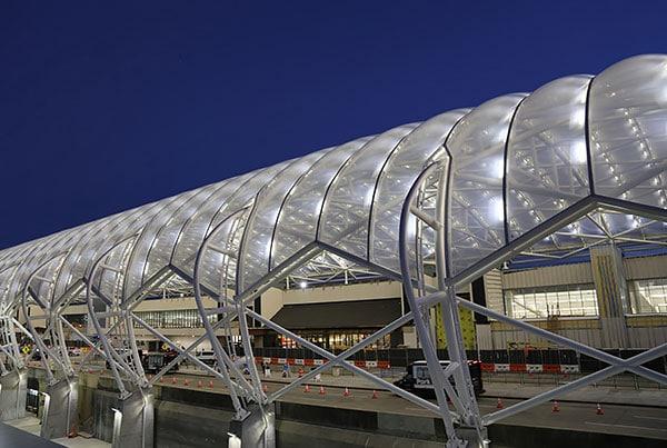 ATLNext Central Passenger Terminal Complex | ETFE Canopies