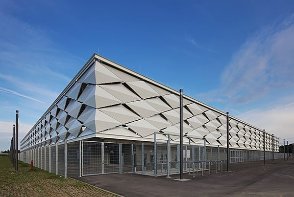 Luxembourg National Stadium | Cable Net Facade