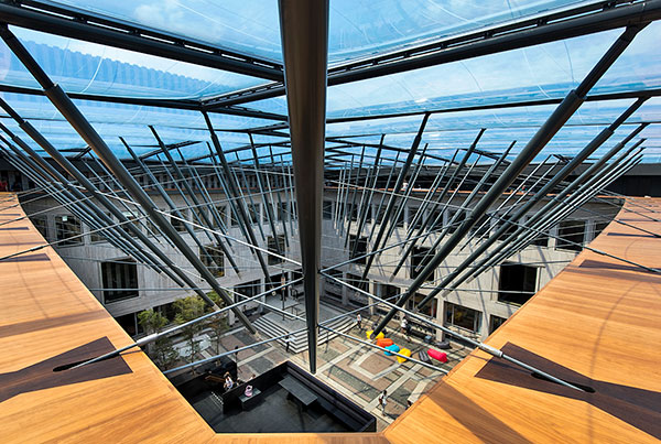 House of Province | Cable Supported ETFE Cushion Roof