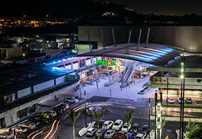 urban center guadalajara commercial lightweight structure