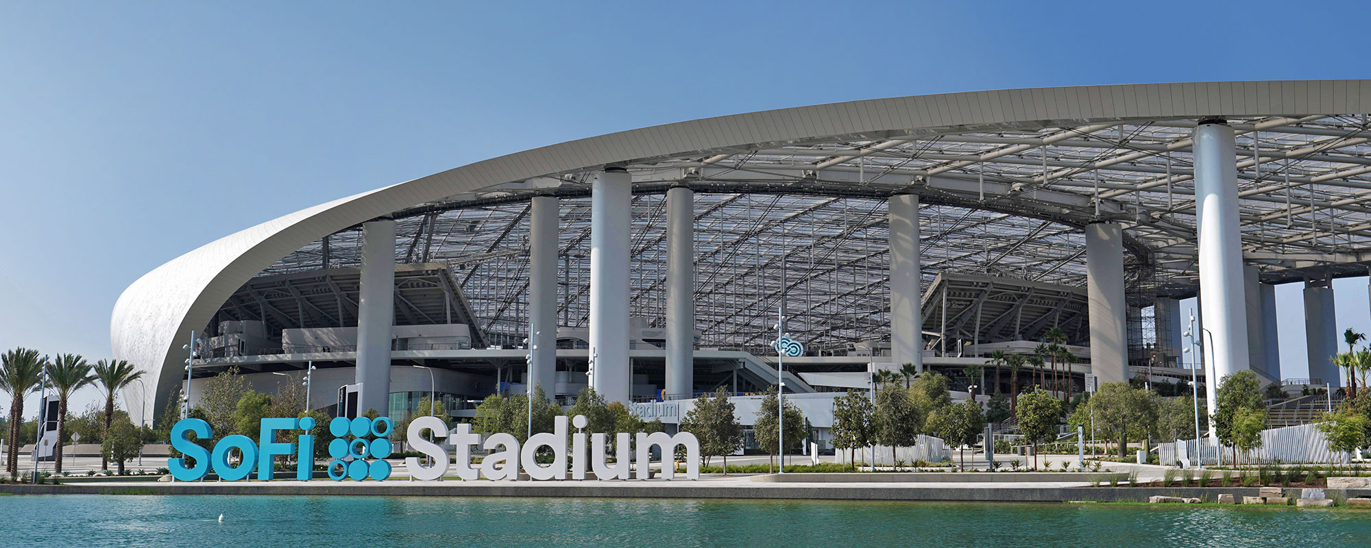 SoFi Stadium Los Angeles Stadium at Hollywood Park FabriTec Structures ETFE roof