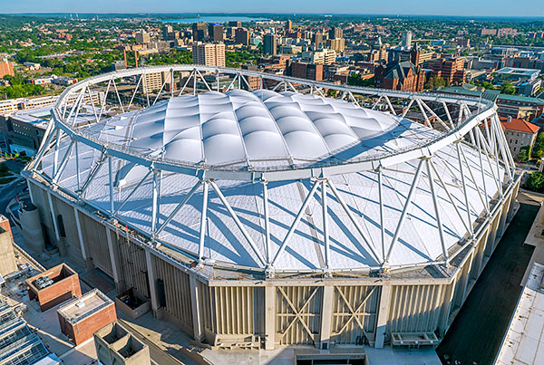 Carrier Dome | Stadium Roof Renovation