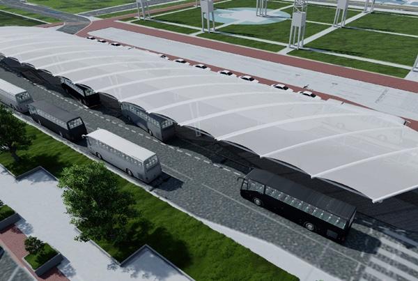 Georgia World Congress Center Transportation Depot Canopy