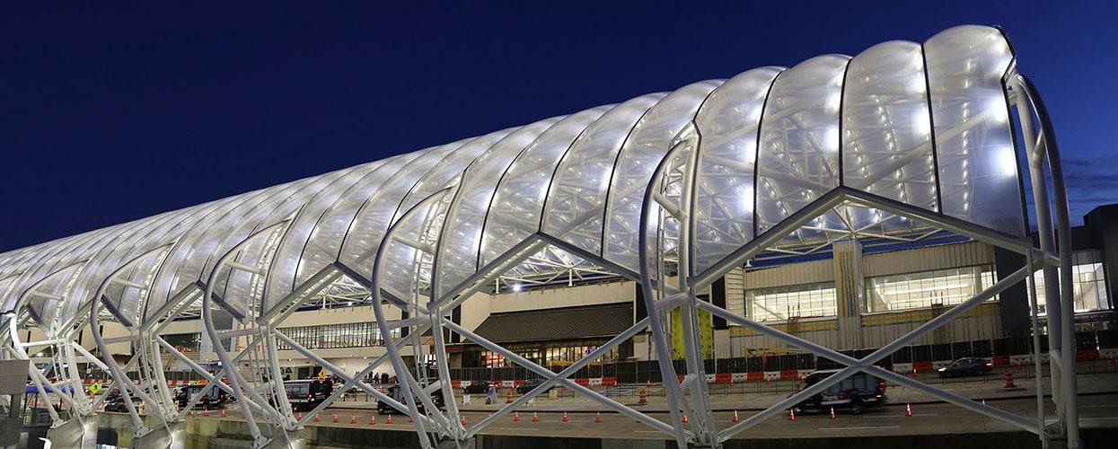 PFEIFER Structures Hartsfield-Jackson Atlanta International Airport ETFE foil canopy