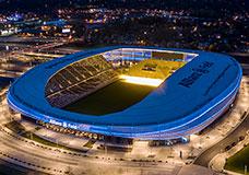 PFEIFER Structures segment sports facilities