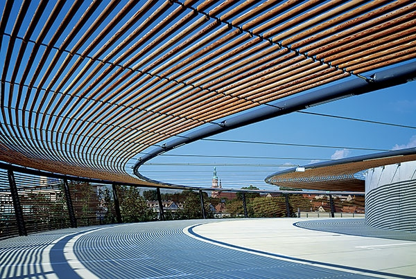 Burda Parkhaus | Façade Structure