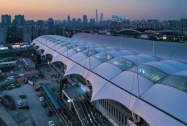 Longyang Road Station | Building Envelope