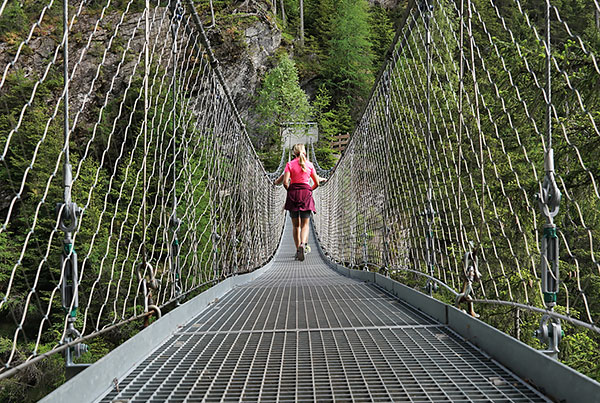 Alpinsteig | Suspension Bridge