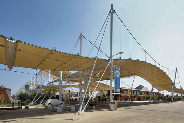 EXPO 2015 | Structural Tension Rod Systems