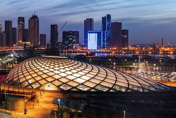 Binhai Railway Station | ETFE Building Envelope