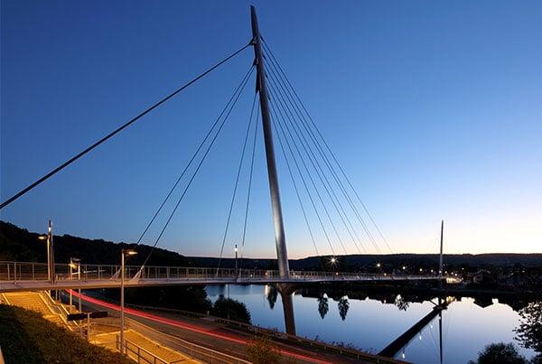 Haßmersheim Bridge | Cable-Stayed Bridge