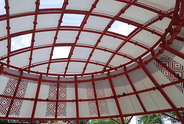 Jiaobanshan Park   Pavilion