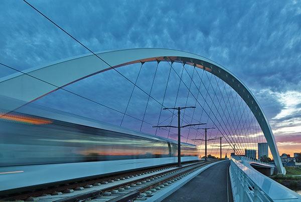 Pont Citadelle   Tied Arch Bridge