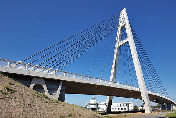 Rudolf-Ihm-Bridge | Cable-Stayed Bridge