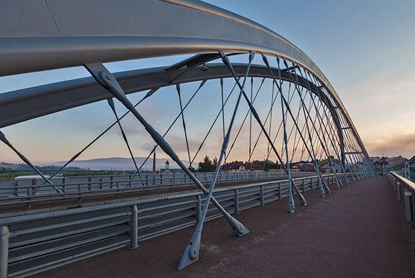 Zwyiec Bridge   Structural Tension Rod Systems
