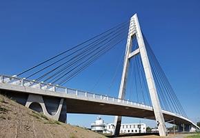 PFEIFER Structures cable stayed bridge Rudolf Ihm bridge