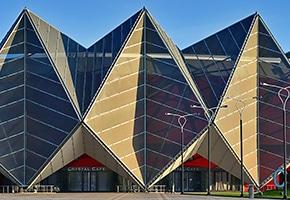 pfeifer structures facades baku crystal hall