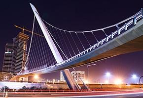 pfeifer structures suspension bridges harbor drive