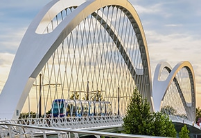 pfeifer structures tied arch bridges beatus rhenanus bridge