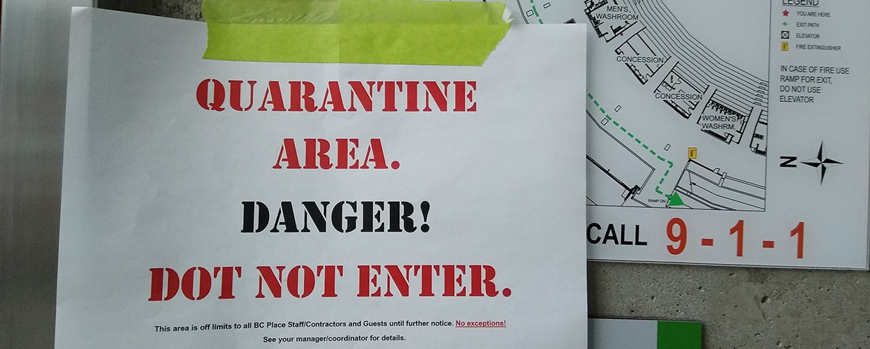 pfeifer structures service quarantine