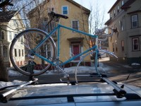 Bicycle Roof Racks/Carriers for Bikes with Fenders
