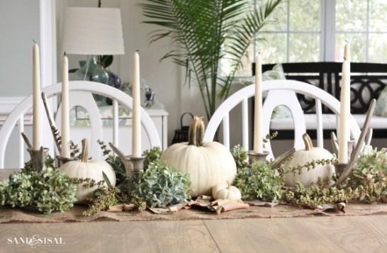 white-pumpkin-fall-centerpiece