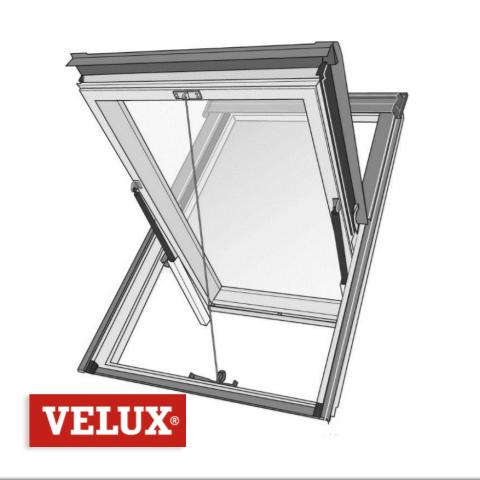 velux desenfumage mecanique ggl s2076m 114 x 118 sk06 cage d escalier