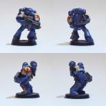 """Taktischer Space Marine aus der """"Sturm der Vergeltung"""" Starterbox"""