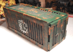 Fertiger Container - Totale