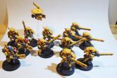 Ein Trupp Feuerkrieger