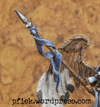 Diorama - Winged Harbinger of Mennoth - Closeup Speer