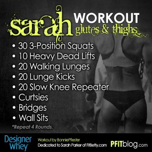Sarah Workout