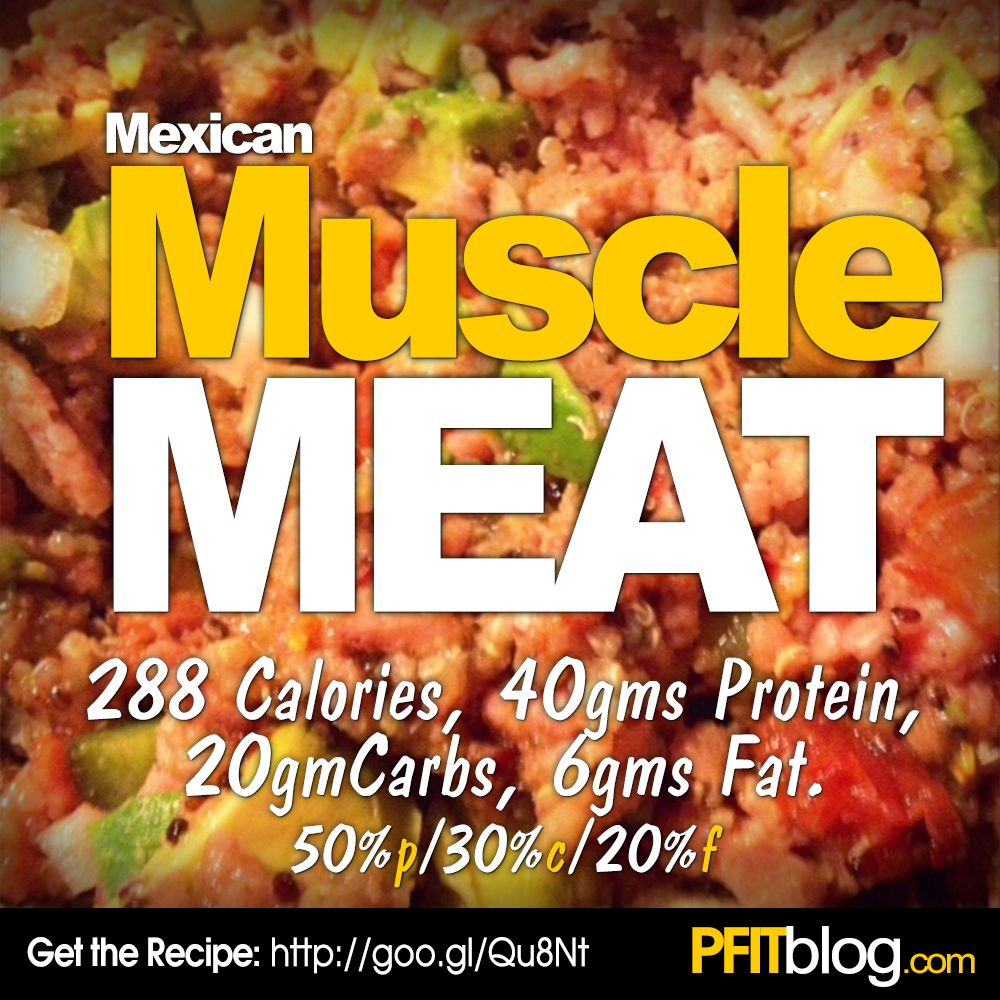 Muscle Meat Recipe  Food For Fitness  U00bb Pfitblog