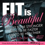 FIT is beautiful