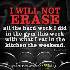 don't erase your hard work