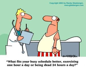 too busy to exercise