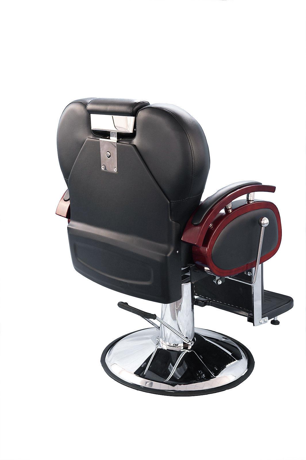 ez chair barber shop cheap kitchen table chairs barberpub four purpose hydraulic recline