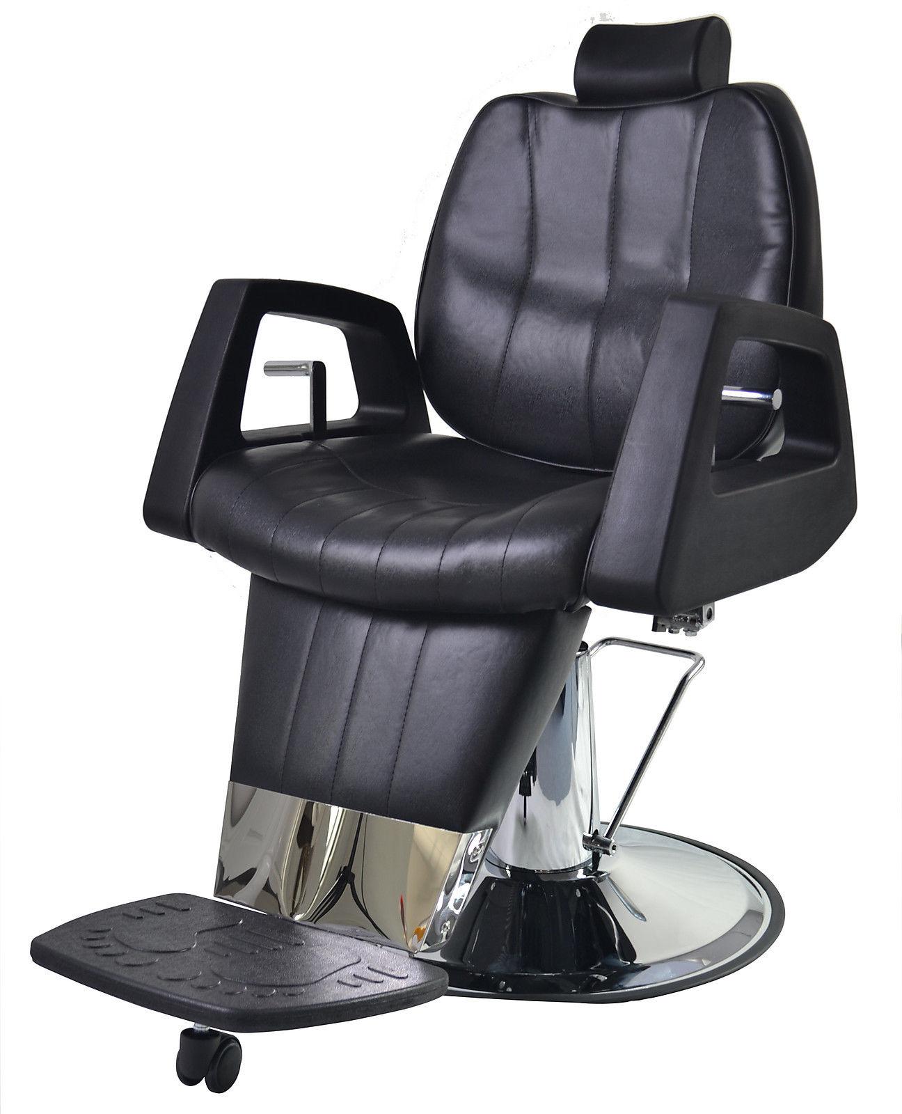 ez chair barber shop green tufted barberpub purpose hydraulic recline salon