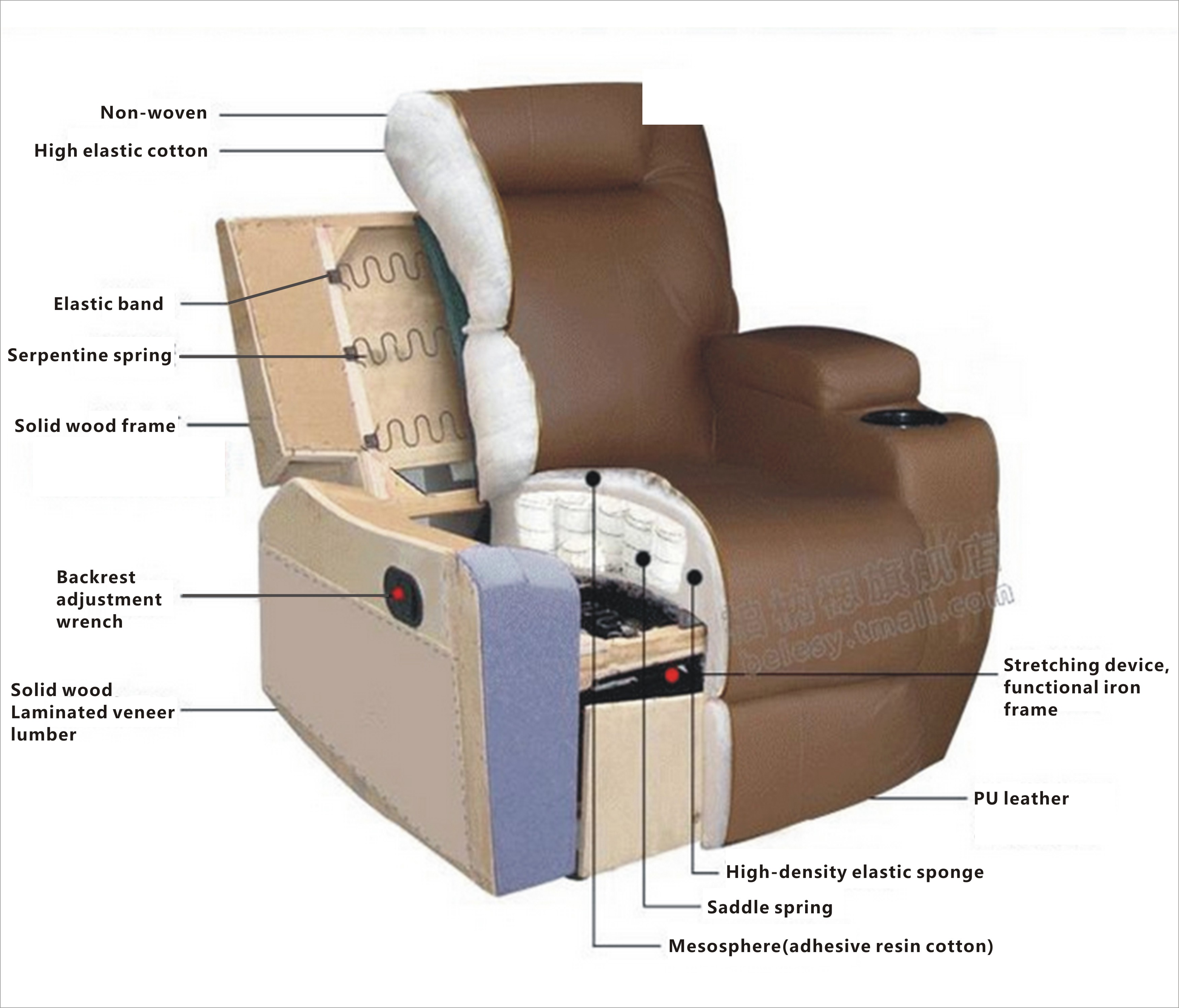 heated chair cover for recliner lifeguard plans massage sofa vibrating w control leather